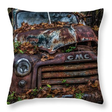 GMC Throw Pillow