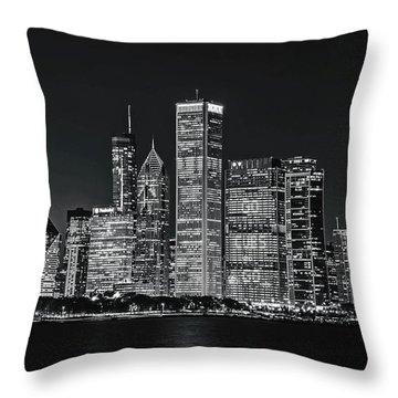 Go Cub Go Chicago Throw Pillow