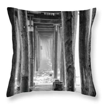 Go Deep Throw Pillow