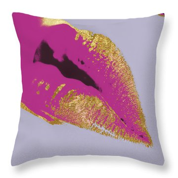 Go-go Girl Throw Pillow by Mindy Sommers