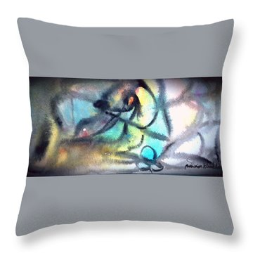Go In Front Throw Pillow