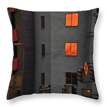 Throw Pillow featuring the photograph Go by Skip Hunt