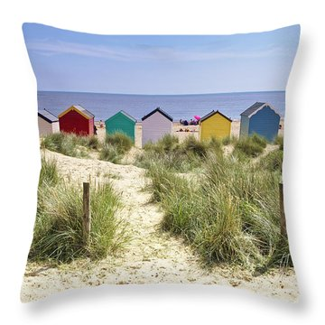 Go To The Seaside Throw Pillow