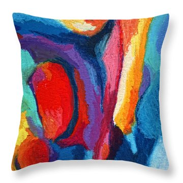 Go With The Flow Throw Pillow by Stephen Anderson