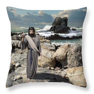 Go Your Faith Has Healed You Throw Pillow