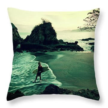 Throw Pillow featuring the photograph Go Your Own Way by Nik West