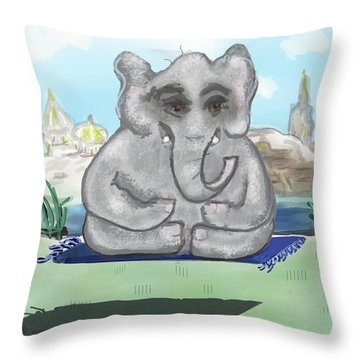 Go Zen, Baby Throw Pillow