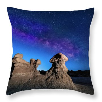Goblin Milky Way  Throw Pillow