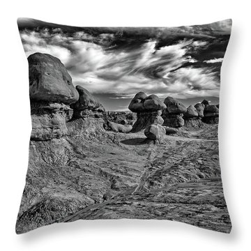 Goblins All In A Row Throw Pillow