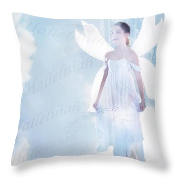 God Be Praised Throw Pillow
