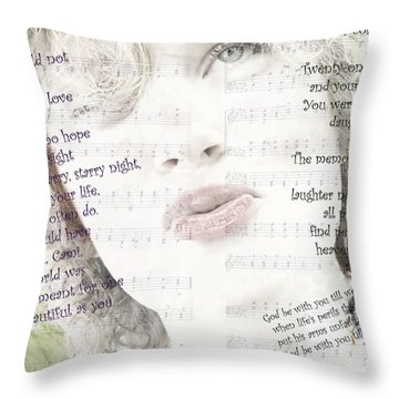 God Be With You Throw Pillow