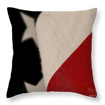 God Bless The U. S. A. Throw Pillow