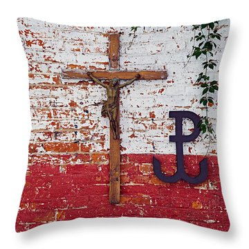 God, Honour, Fatherland Throw Pillow