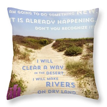 God Is Able To Make A Way Where There Throw Pillow