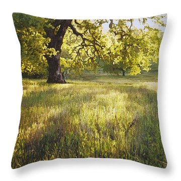 God Light Throw Pillow