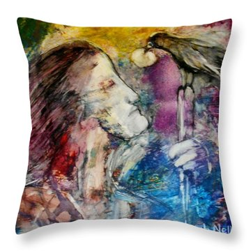 God Will Provode Throw Pillow