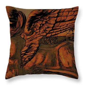 Throw Pillow featuring the photograph Goddess by Beauty For God