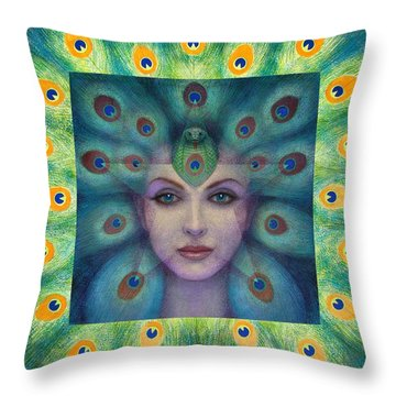 Goddess Isis Visions Throw Pillow