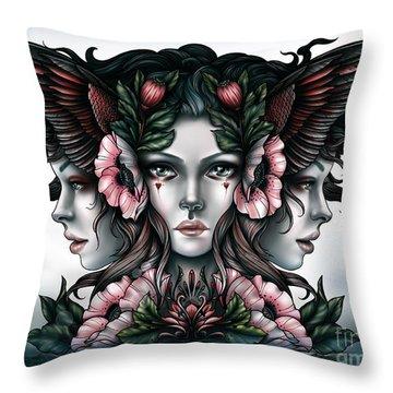 Goddess Of Magic Throw Pillow
