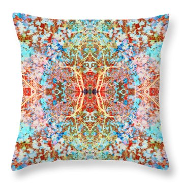 Goddesses Come Together Throw Pillow