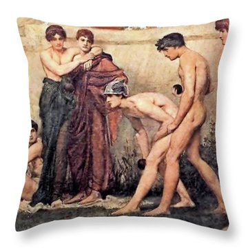 Gods At Play Throw Pillow