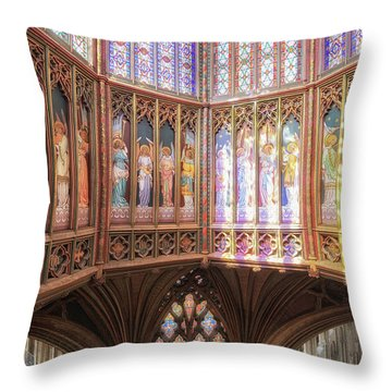 Gods Colors Throw Pillow