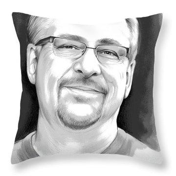 Pastor Rick Warren Throw Pillow