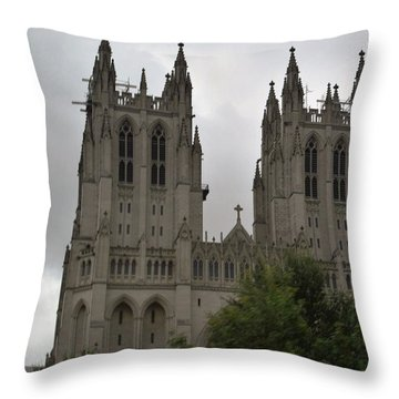 God's House Throw Pillow