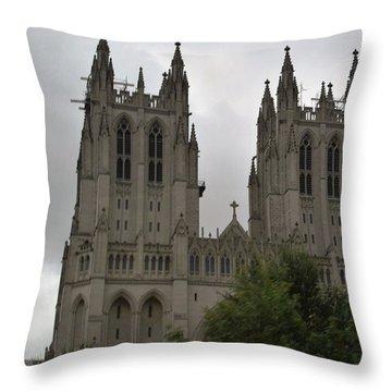 God's House Throw Pillow