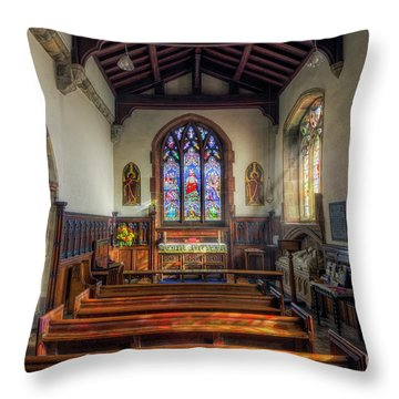 Throw Pillow featuring the photograph Gods Light by Ian Mitchell