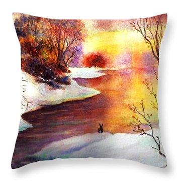 God's Love Letter Throw Pillow