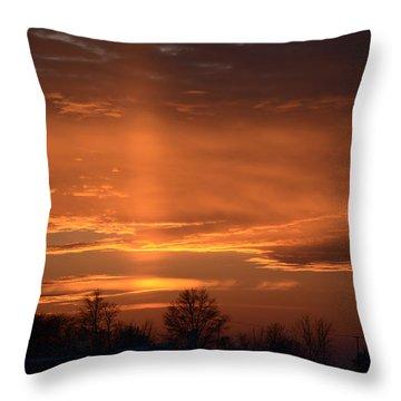 God's Love Throw Pillow