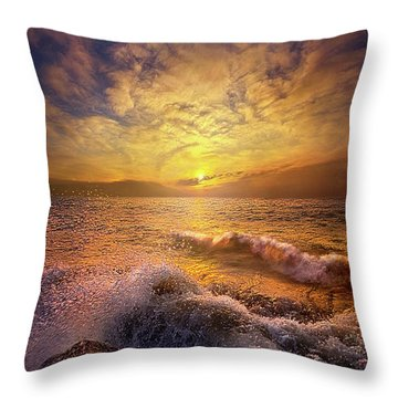 Throw Pillow featuring the photograph Gods Natural Cure by Phil Koch