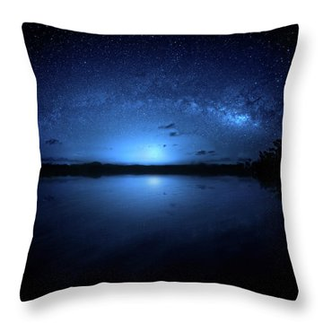 Gods Of Nature Throw Pillow by Mark Andrew Thomas