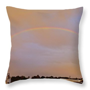 God's Promise Throw Pillow
