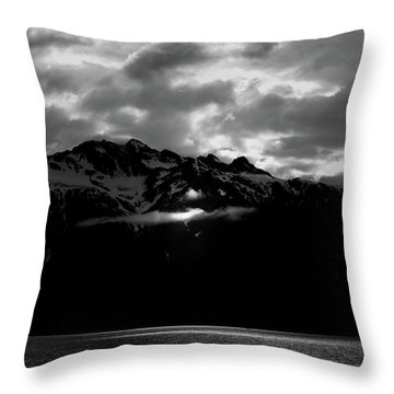 God's Spotlight Throw Pillow