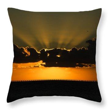 God's Wi-fi Signal Throw Pillow
