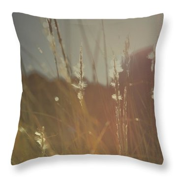 Goes On Throw Pillow