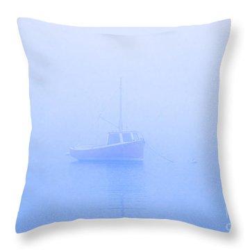 Gog Boat Throw Pillow by John Greim
