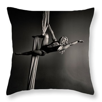 Going Big Throw Pillow