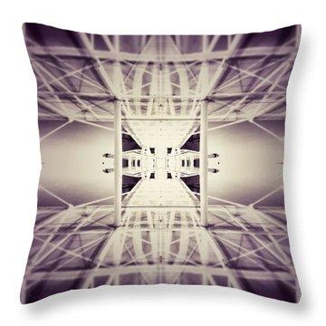 Going Down Throw Pillow by Jorge Ferreira