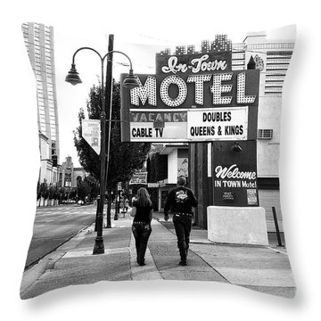 Going For Breakfast Throw Pillow