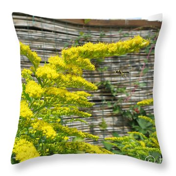 Going For It Throw Pillow