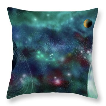 Going Further Throw Pillow