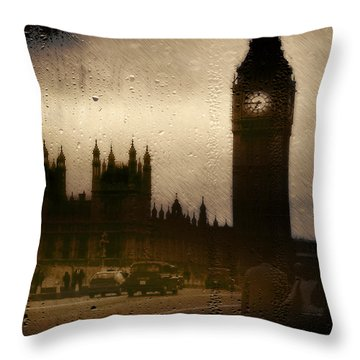 Throw Pillow featuring the digital art Going Home  by Fine Art By Andrew David
