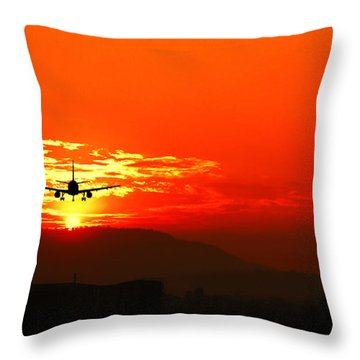 Going Home Throw Pillow by Charuhas Images