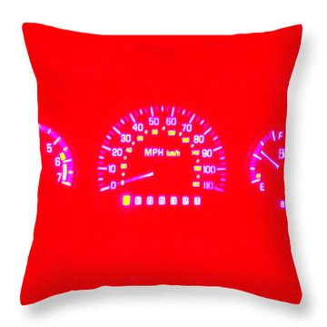 Going Nowhere Throw Pillow