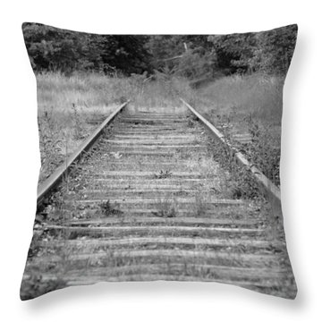 Throw Pillow featuring the photograph Going Nowhere by Corinne Rhode