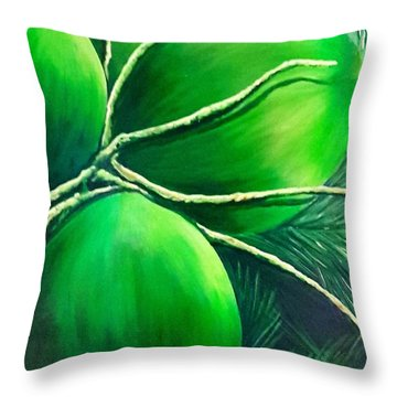 Going Nuts Throw Pillow