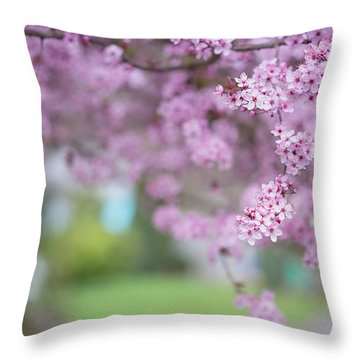 Going On A Limb Throw Pillow
